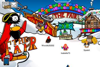 Club Penguin Fair Ski Village