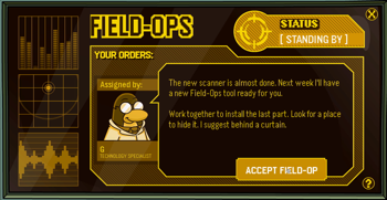 Club Penguin Field Ops 16