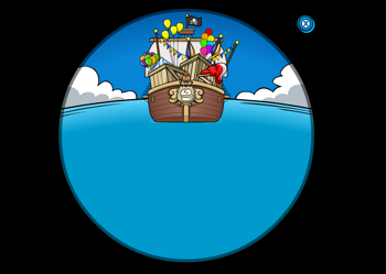 Rockhopper's Ship is arriving with party gear