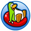 Club Penguin Sled Racing Icon