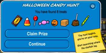Halloween Candy Hunt 2010