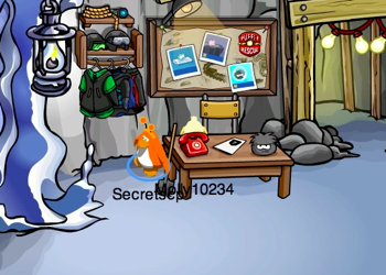 Club Penguin Red Telephone