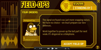 Club Penguin Field Ops 20