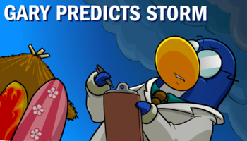 Club Penguin Storm Coming