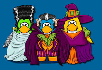 Club Penguin Halloween Costumes 2010
