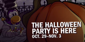 Club Penguin Halloween Party 2010