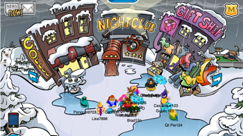Club Penguin Rain