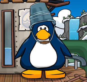 Club Penguin water tank background
