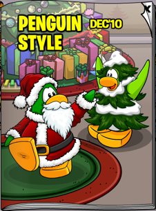 Club Penguin Style December 2010 cover