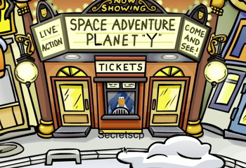 Club Penguin Stage Booth