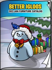 Club Penguin Igloo Catalog Cheats for December 2010
