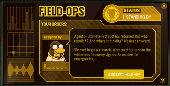 Club Penguin Field Ops 31