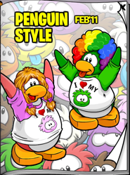 Club Penguin Clothing Catalog February 2011