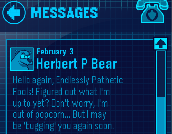 Message from Herbert the Polar Bear