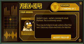 Club Penguin Field Ops 32