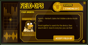 Club Penguin Field Ops 33
