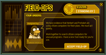 Club Penguin Field Ops 34 - Citizen Computers