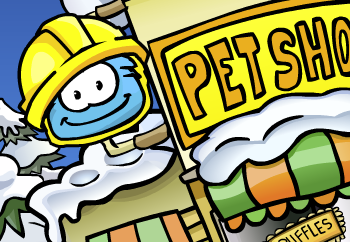 Club Penguin Pet Shop Construction