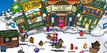 Club Penguin Earth Day 2011