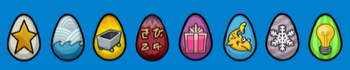 Club Penguin Easter Egg Hunt 2011