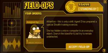 Club Penguin Field Ops 42