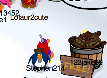 Club Penguin Earth Day 2011 Free Hat