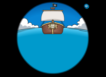 Rockhopper's Ship on the Horizon