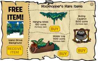Rockhopper's Rare Items April 2011
