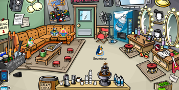Club Penguin Music Jam 2011 - Backstage