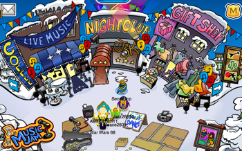 Club Penguin Music Jam 2011 - Town