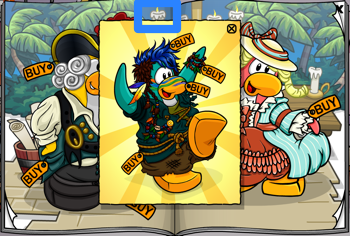 Club Penguin Castaway Outfit