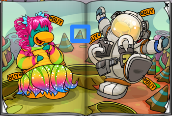 Club Penguin Catalog - Rock Formation