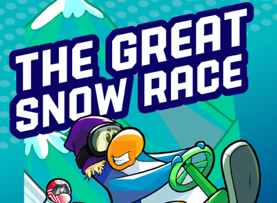 Club Penguin Great Snow Race