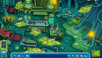 Club Penguin Dark Chamber
