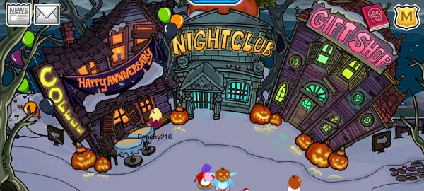 Club Penguin Halloween 2011