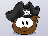 Club Penguin Puffle Pirate Hat