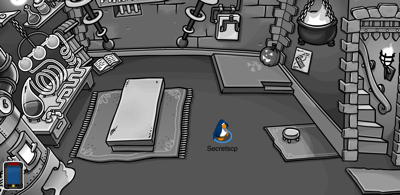 Club Penguin Secret Lab