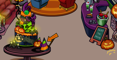 Sixth anniversary hat in coffee shop club penguin cheats