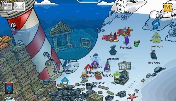 Club Penguin Underwater Expedition