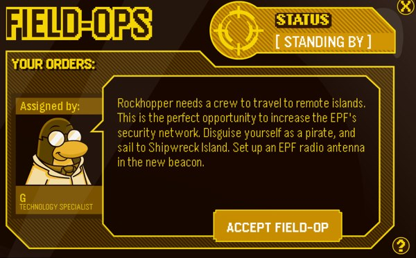 Club Penguin Field Ops 70