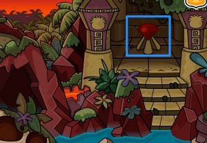 Club Penguin Dinosaur Island Gem