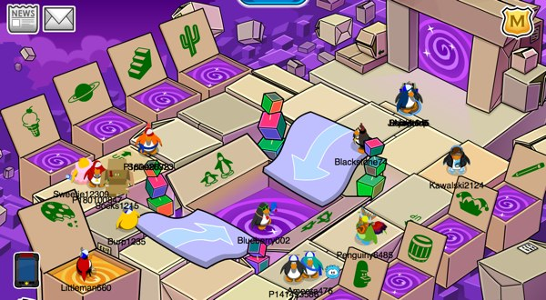 Club Penguin April Fool's Party Cheats 2012