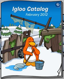 Club Penguin Igloo Catalog