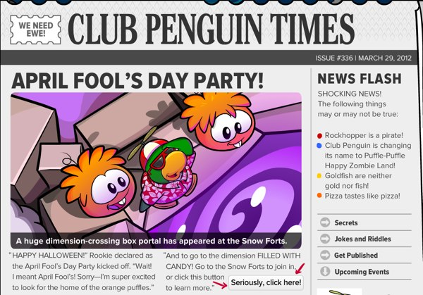 Club Penguin Times - Issue 336