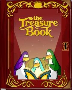 Club Penguin Treasure Book Catalog Cheats
