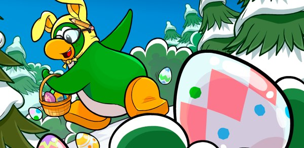 Club Penguin Easter Egg Hunt 2012 Cheats