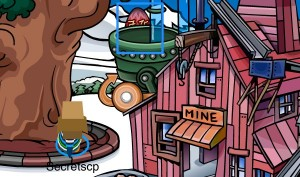 Club Penguin Easter Egg Hunt 2012 - Egg 4