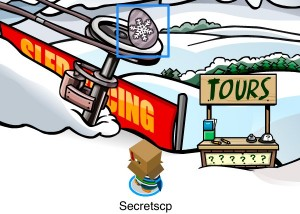 Club Penguin Easter Egg Hunt 2012 - Egg 7