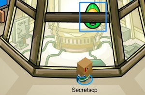 Club Penguin Easter Egg Hunt 2012 - Egg 8